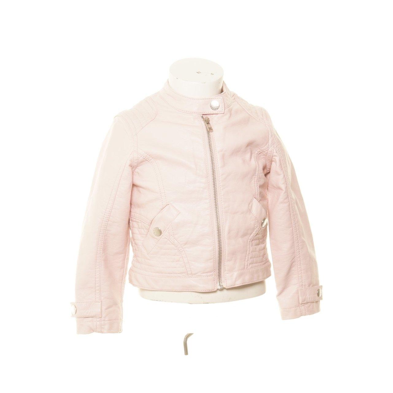Out Wear By Lindex, Skinnjacka, Strl: 98, Rosa (366381648
