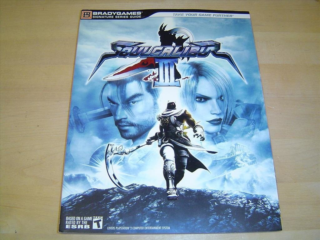 Soul Calibur 3 Spelguide Guide till Sony Playstation 2 PS2 *NYTT*