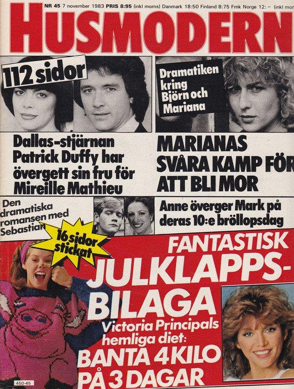 Husmodern 1983-45 Borg.Stewart.Gunke.Landon.Björlin.Hanson