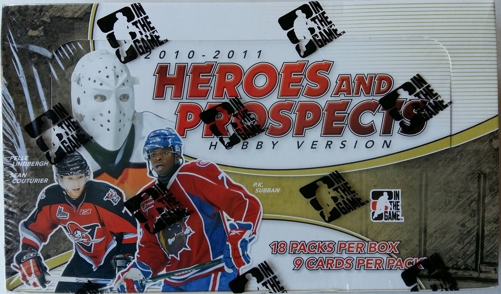 2010/2011 ITG Heroes & Prospects Hockey Hobby Box