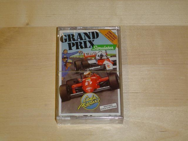 GRAND PRIX SIMULATOR TILL AMSTRAD *SEALED*