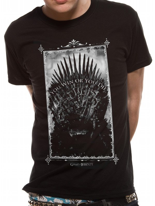 GAME OF THRONES - WIN OR DIE T-Shirt - Small