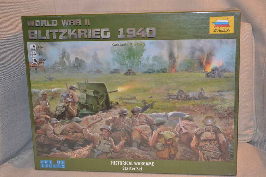 Blitzkrieg 1940 - Art of Tactic, Zvezda (ZV6192) Taktikspel