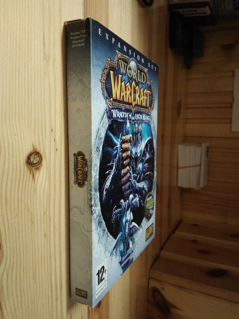 World of Warcraft Expansion: Wrath of the Lich King, spel 2 X DVD