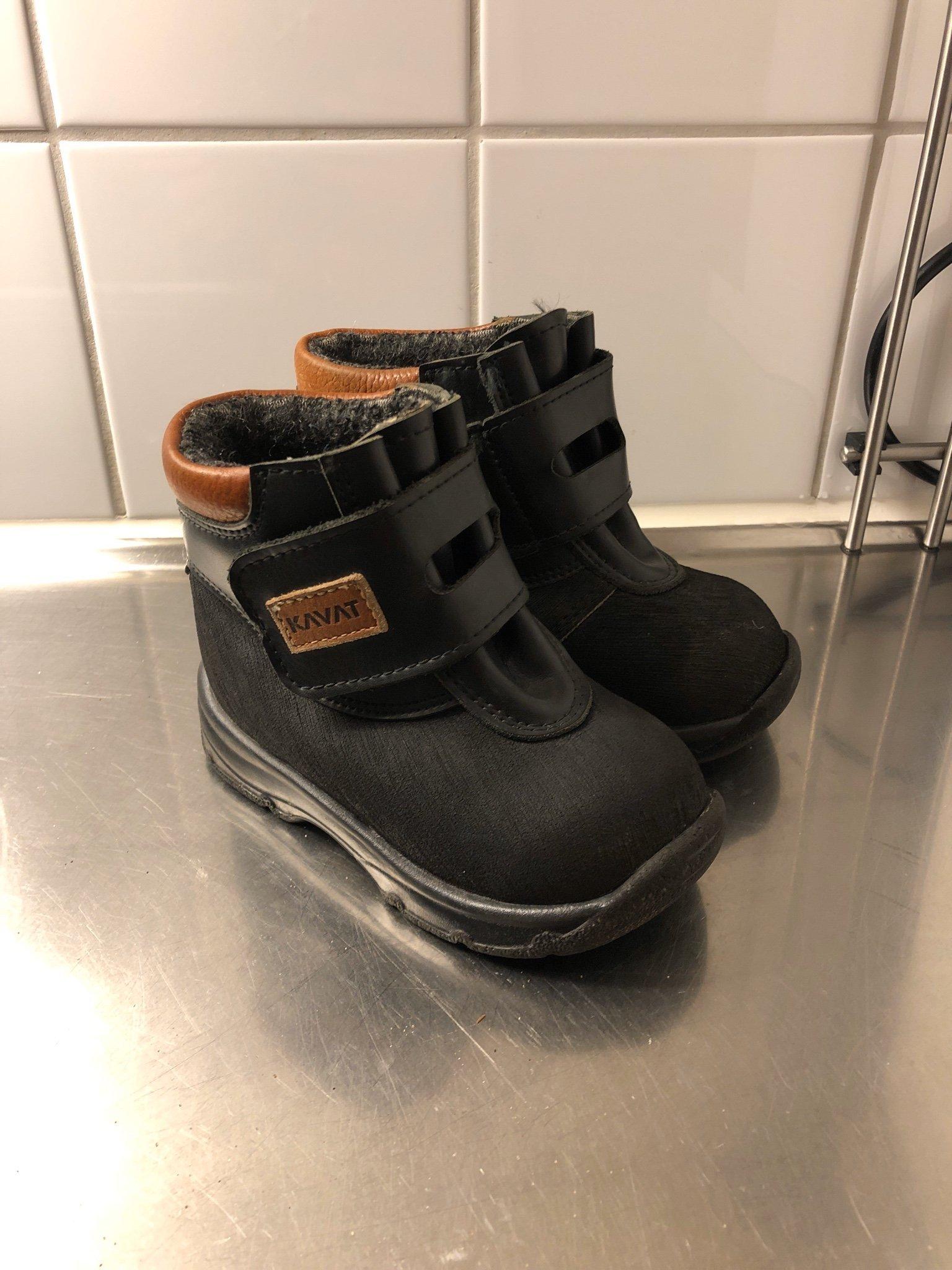 fodrade vattentäta skor
