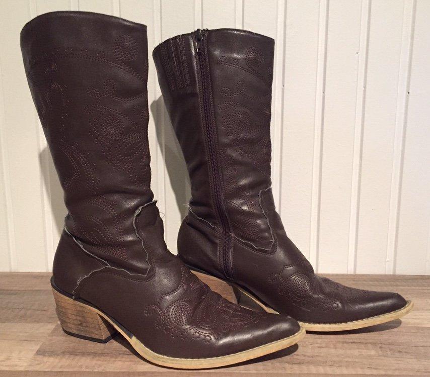Coola stövlar boots, storlek 38,5. Bruna