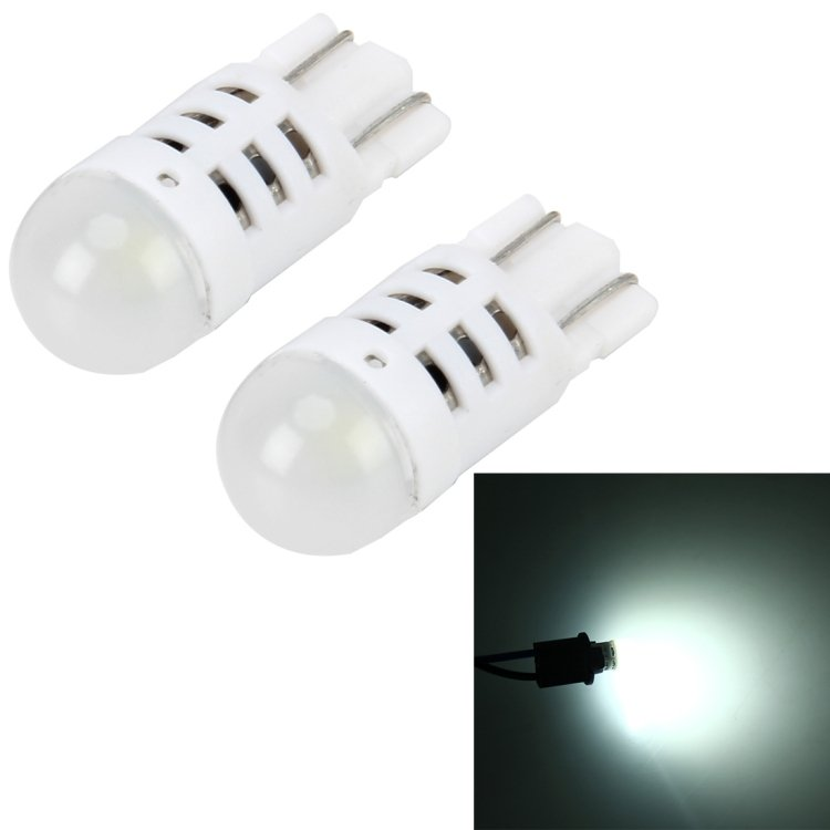 Led lampa bil T10 3W 200LM 6000K - 2PACK