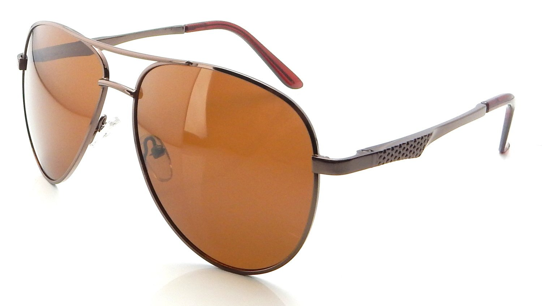 Solglasögon Pilot Polariserade | Man Brown