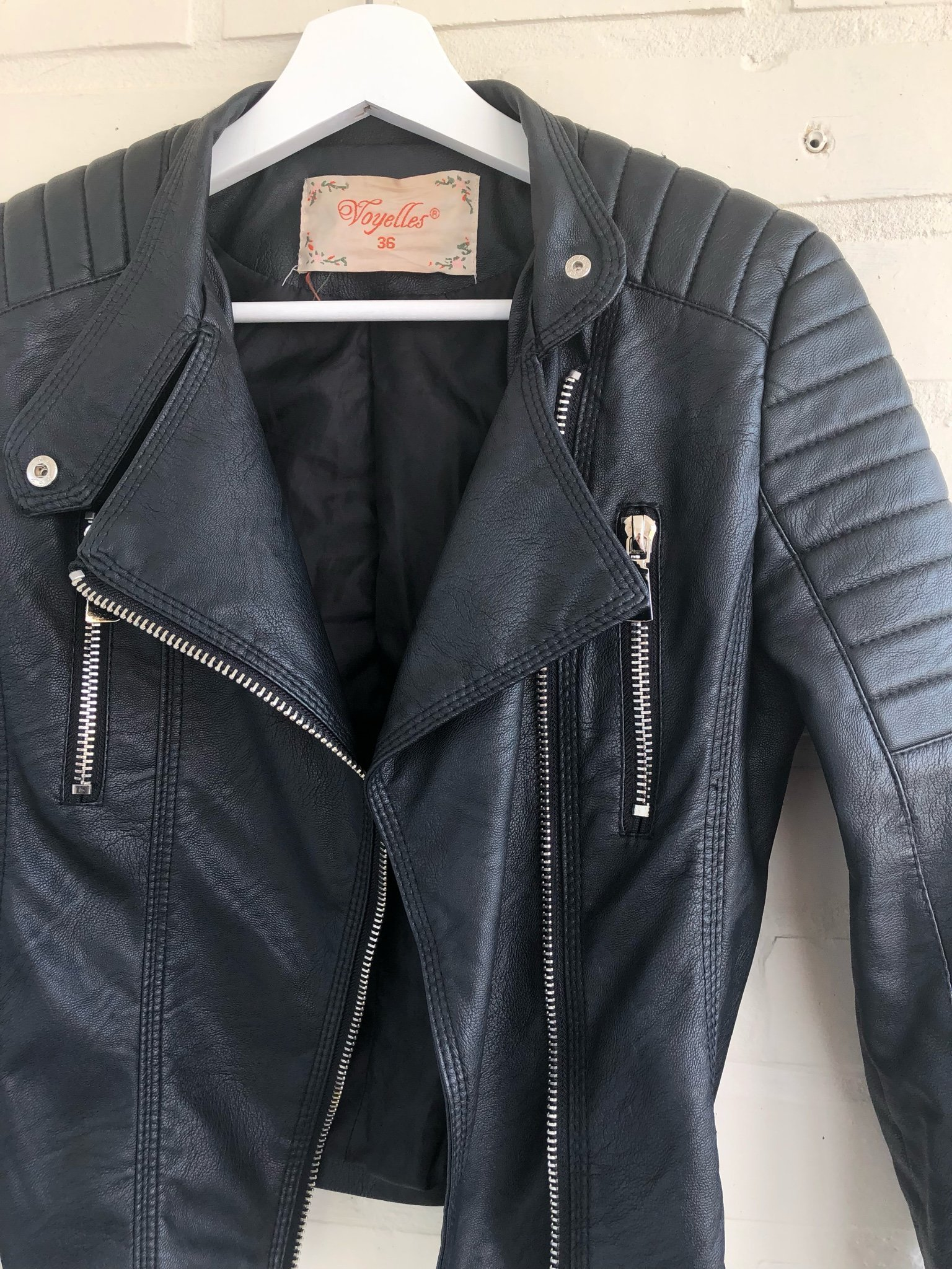 Moto jacket Chiquelle (364098844) ᐈ Köp på Tradera