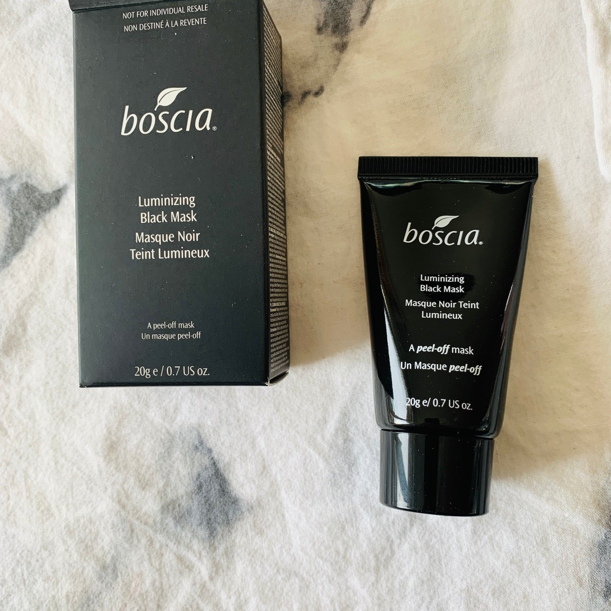 Boscia ansiktsmask Luminizing Black Mask 20g
