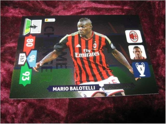 MARIO BALOTELLI-MILAN-GAME CHANGER-CHAMPIONS LEAGUE 2013/2014