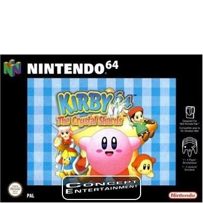 KIRBY 64 - THE CRYSTAL SHARDS till Nintendo 64, N64