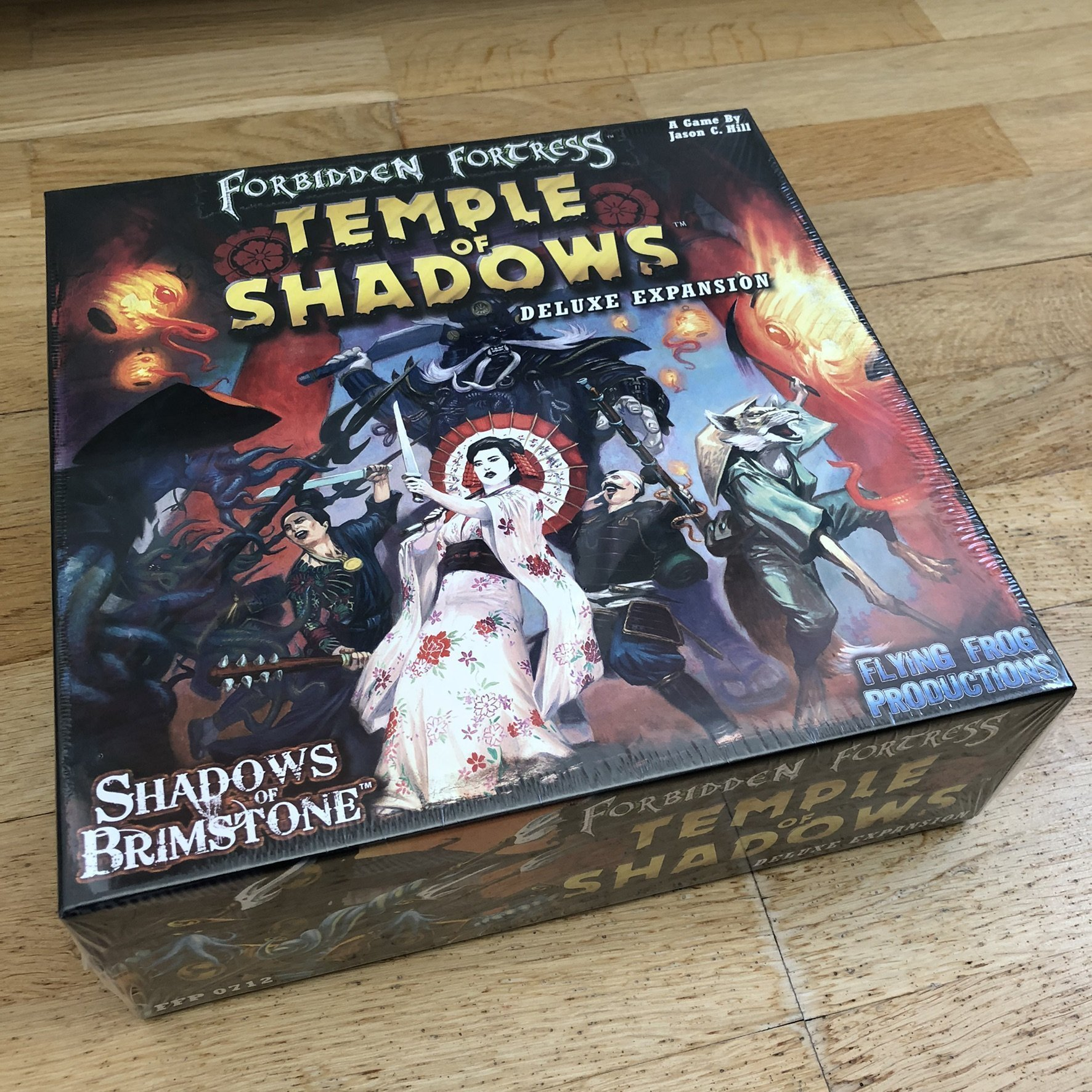 Shadows of Brimstone TEMPLE OF SHADOWS Deluxe E   (358357997