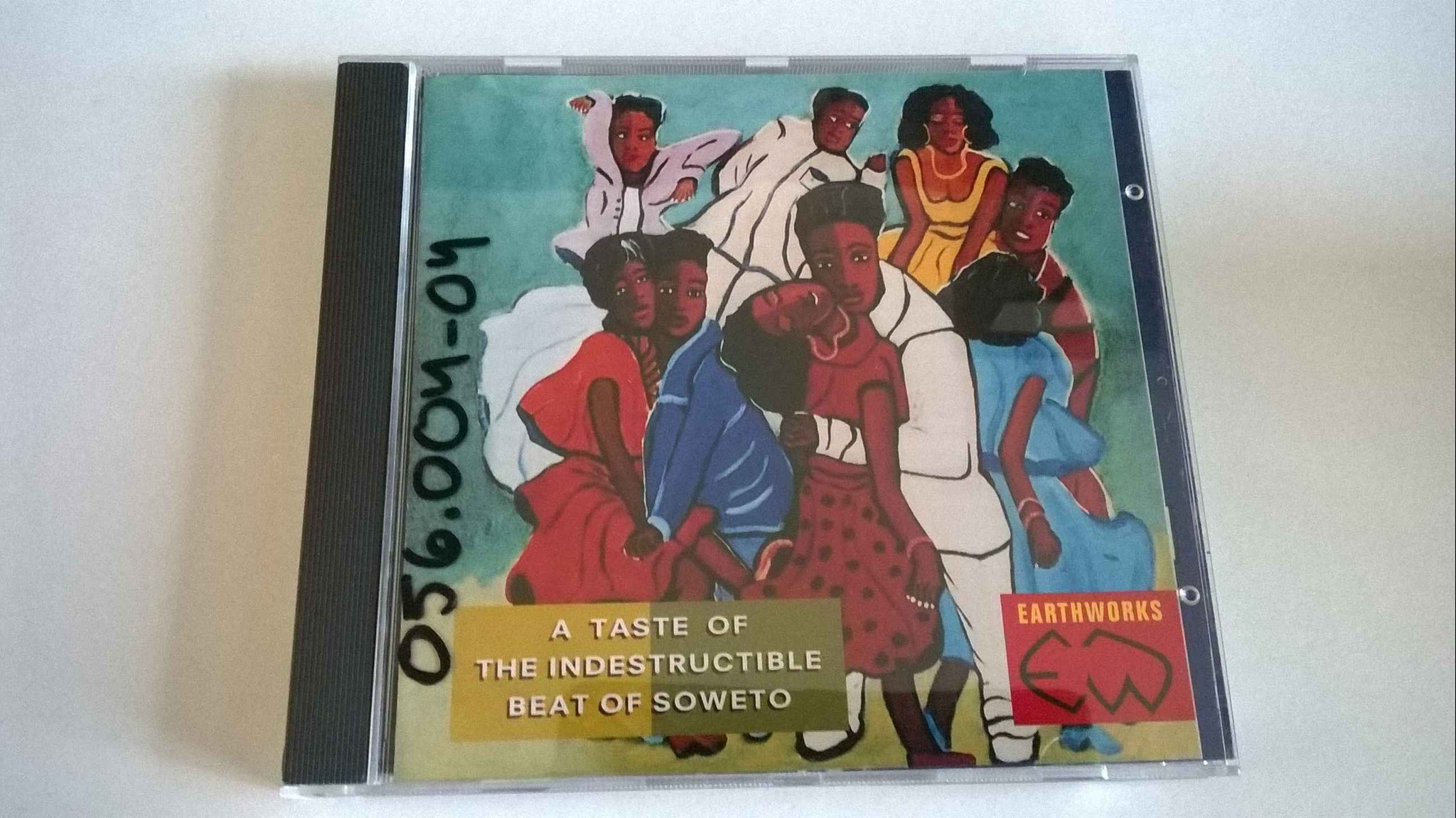 A Taste Of The Indestructible Beat Of Soweto, CD