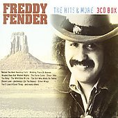CD Freddy Fender  The Hits & More 3 CD
