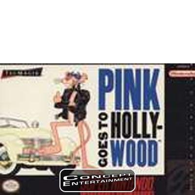 PINK GOES TO HOLLYWOOD, NTSC-U till Super Nintendo SNES