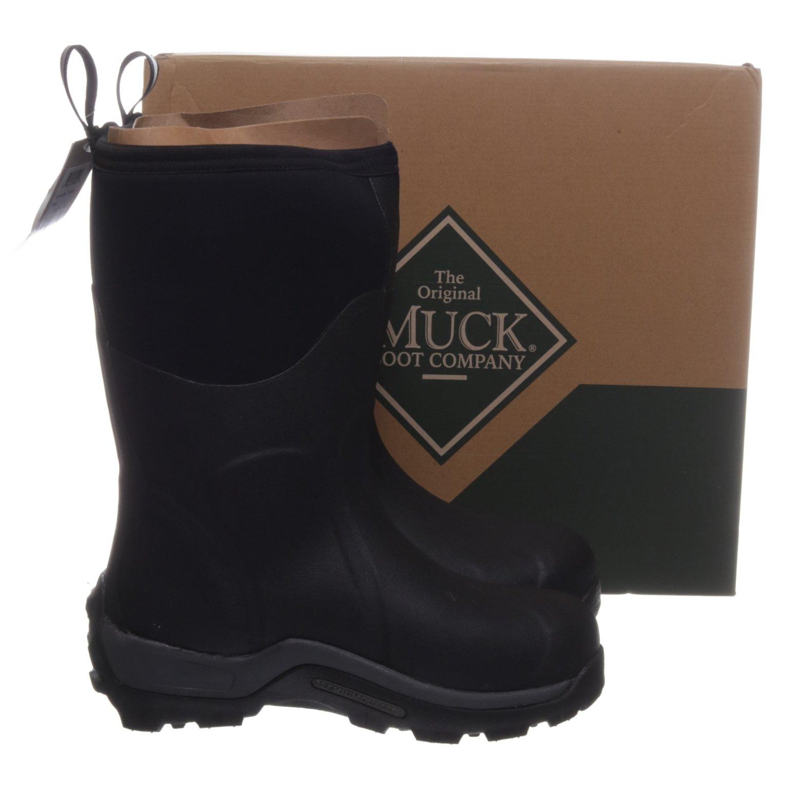Muck Boot Co., Gummistövlar, Strl: 43, Artic Sport Mid, Svart