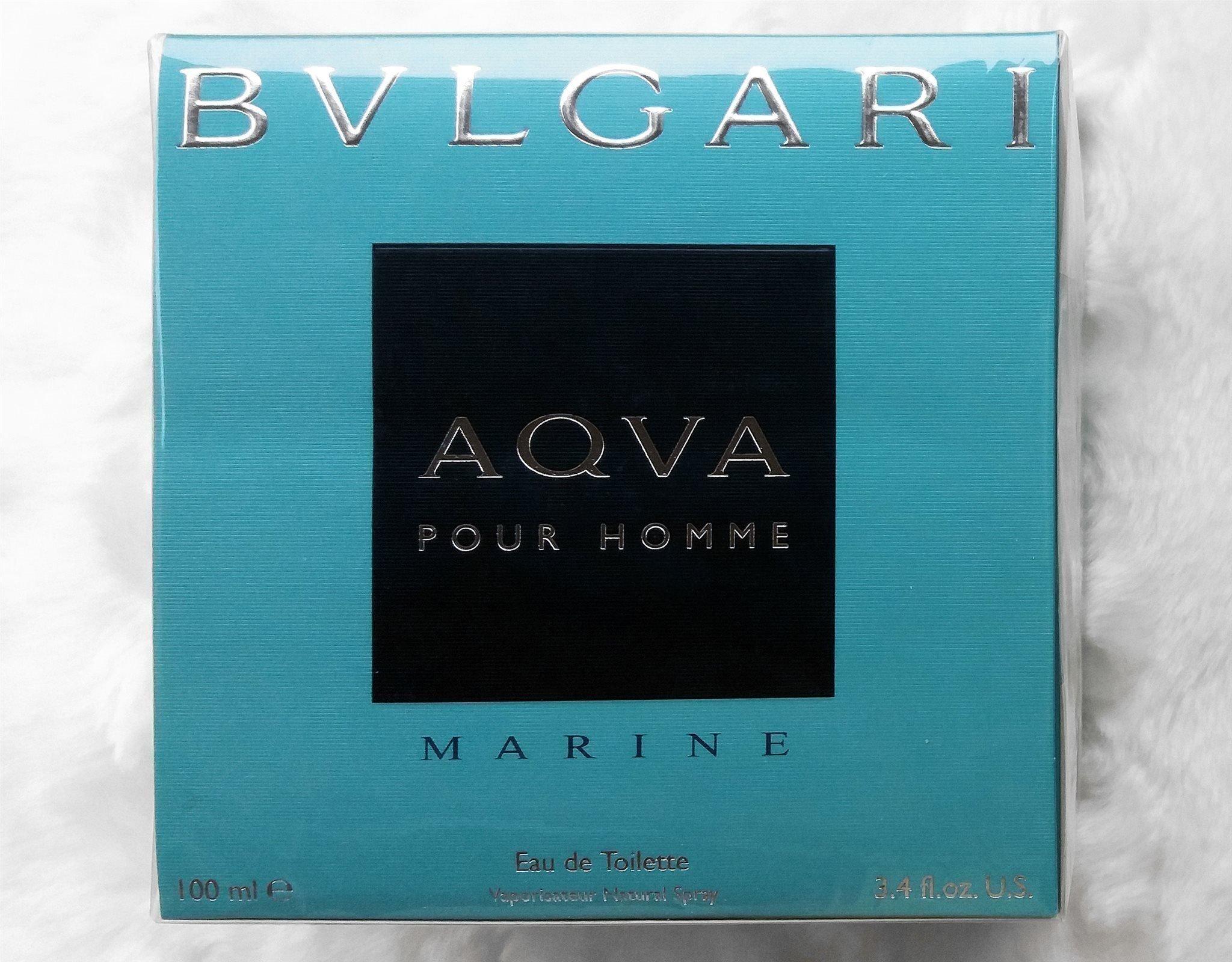 BVLGARI Aqva Marine Pour Homme edt 100ml Parfym | Baresso
