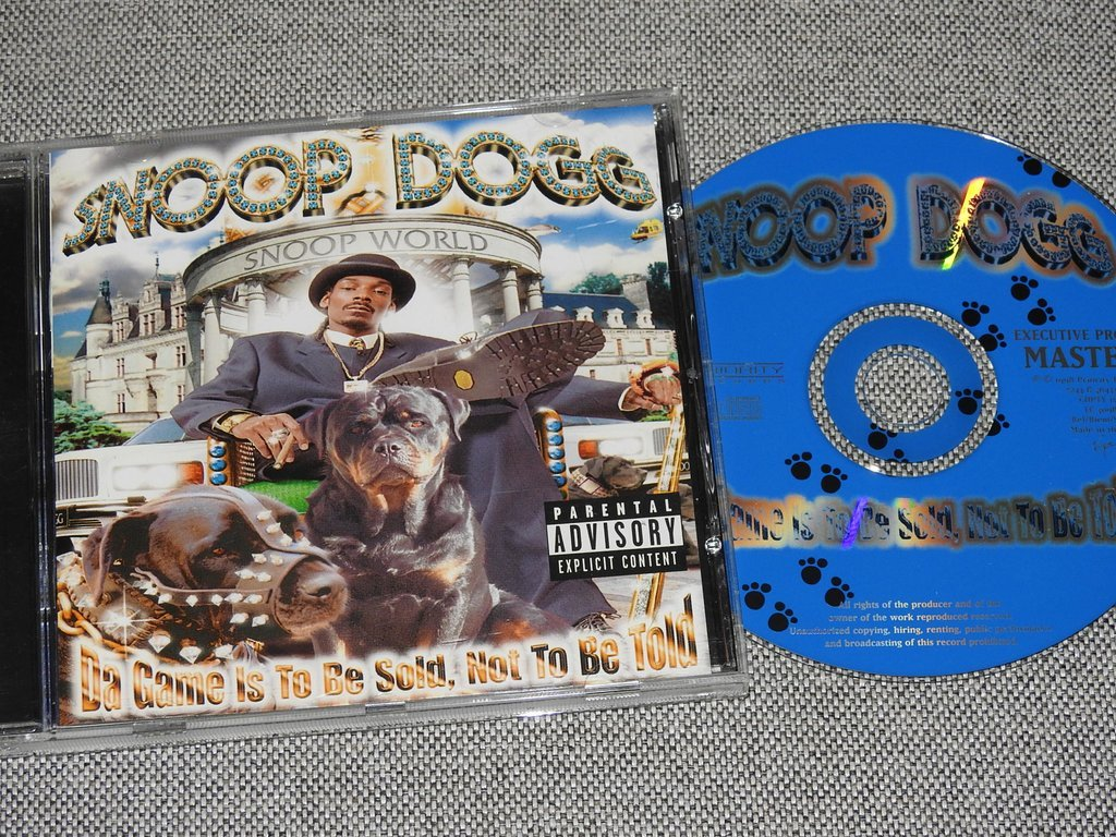 Snoop Dogg - Da Game Is To Be Sold, Not To Be T   (323966970