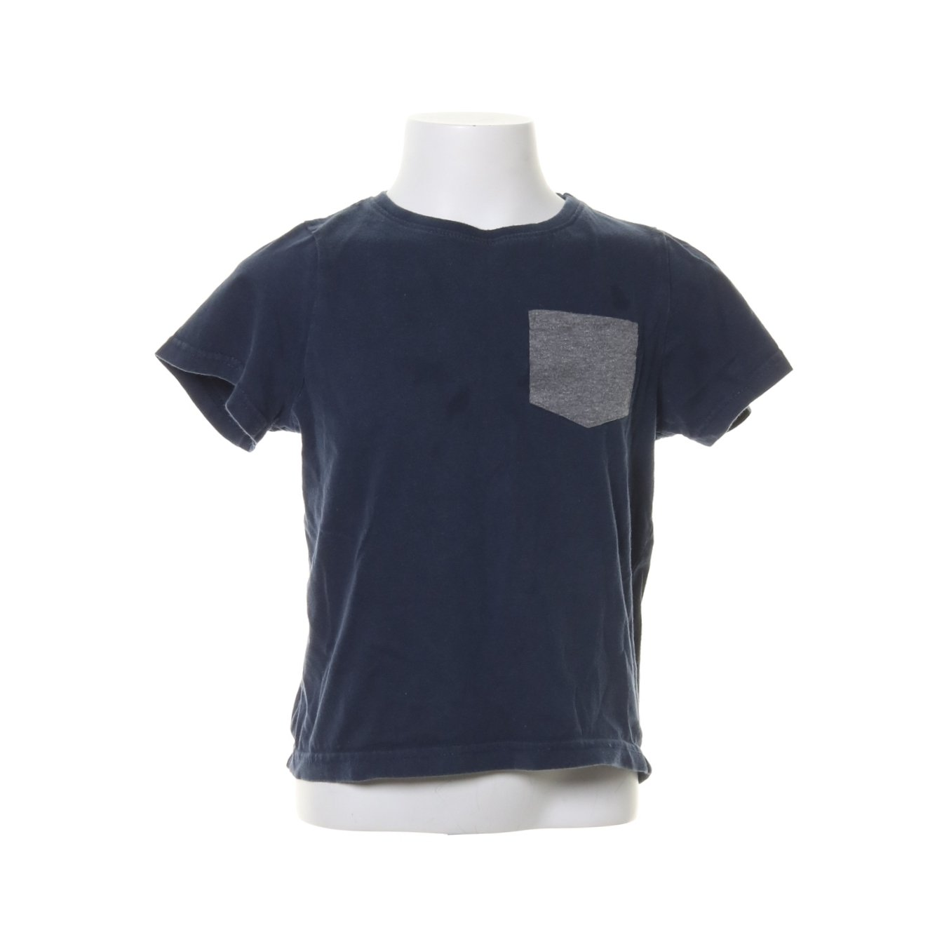 Play in blwr, T shirt, Strl: 122 128, Blå