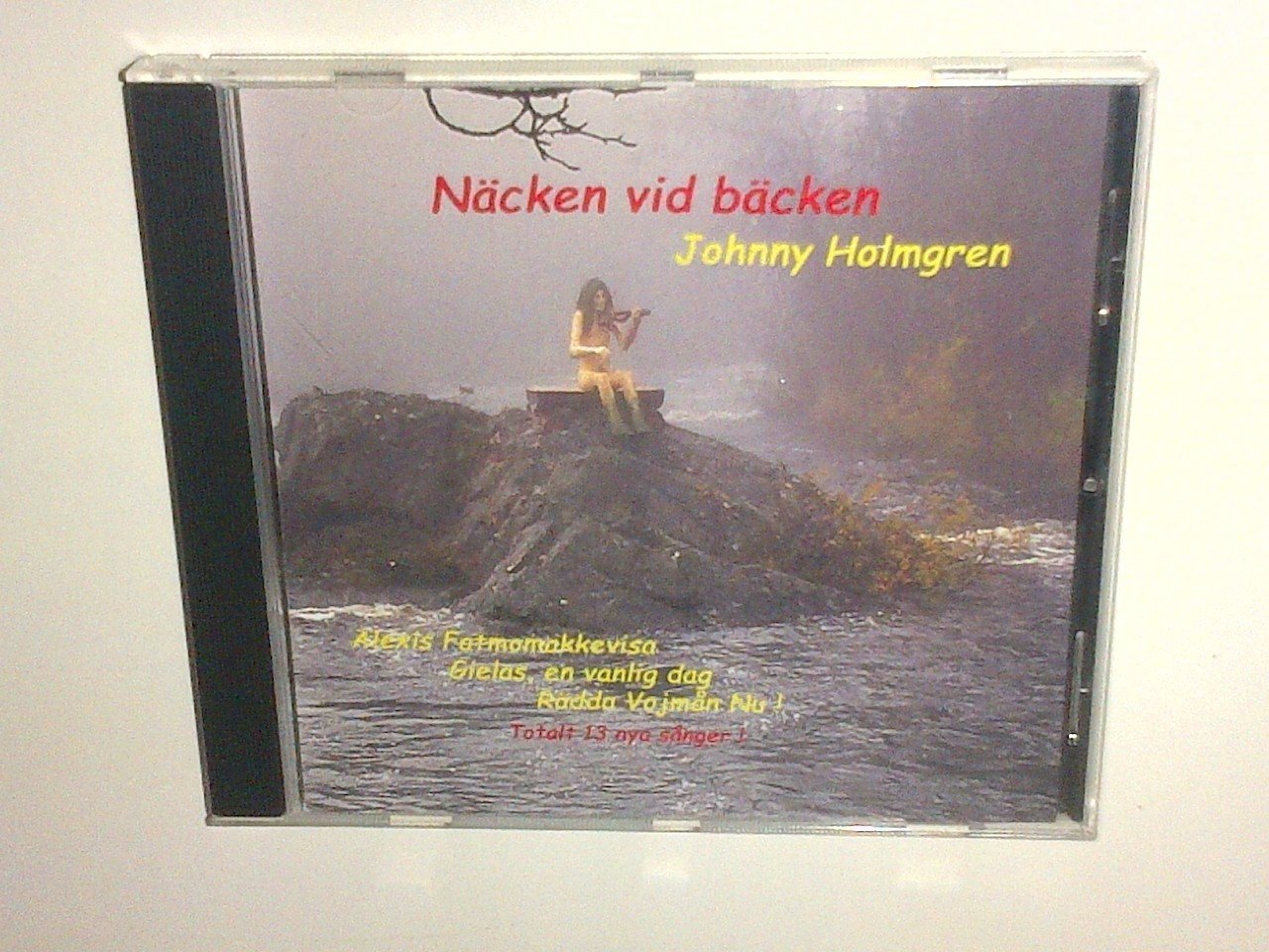 Johnny Holmgren - Näcken vid bäcken, CD