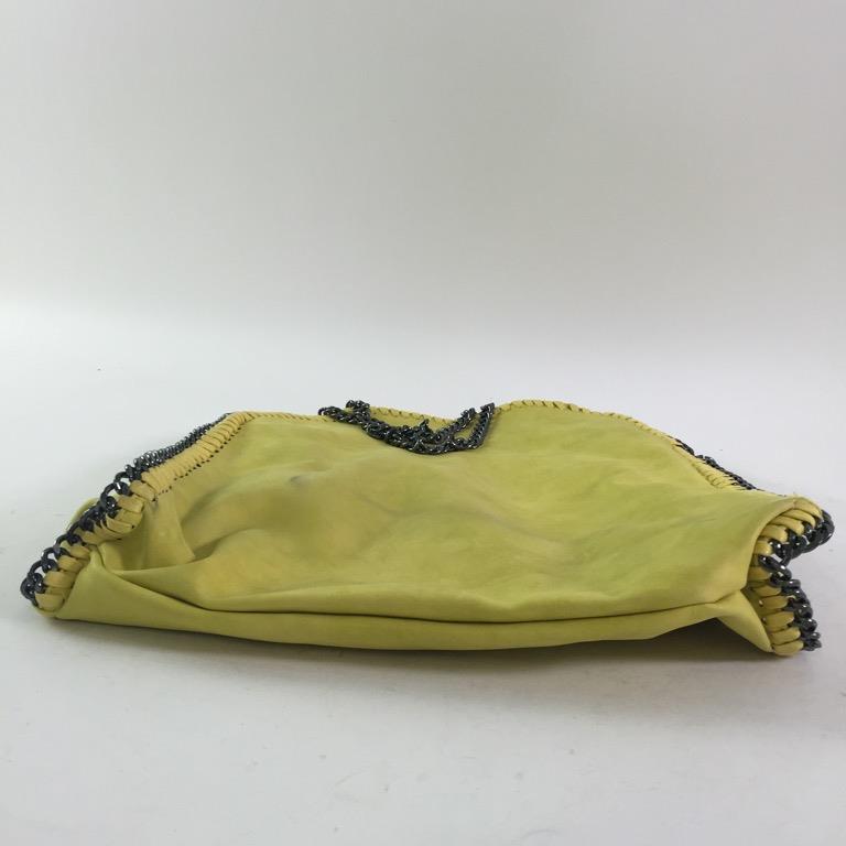 Handväska Gul : Handv?ska gul skick normalt p? tradera handv?skor