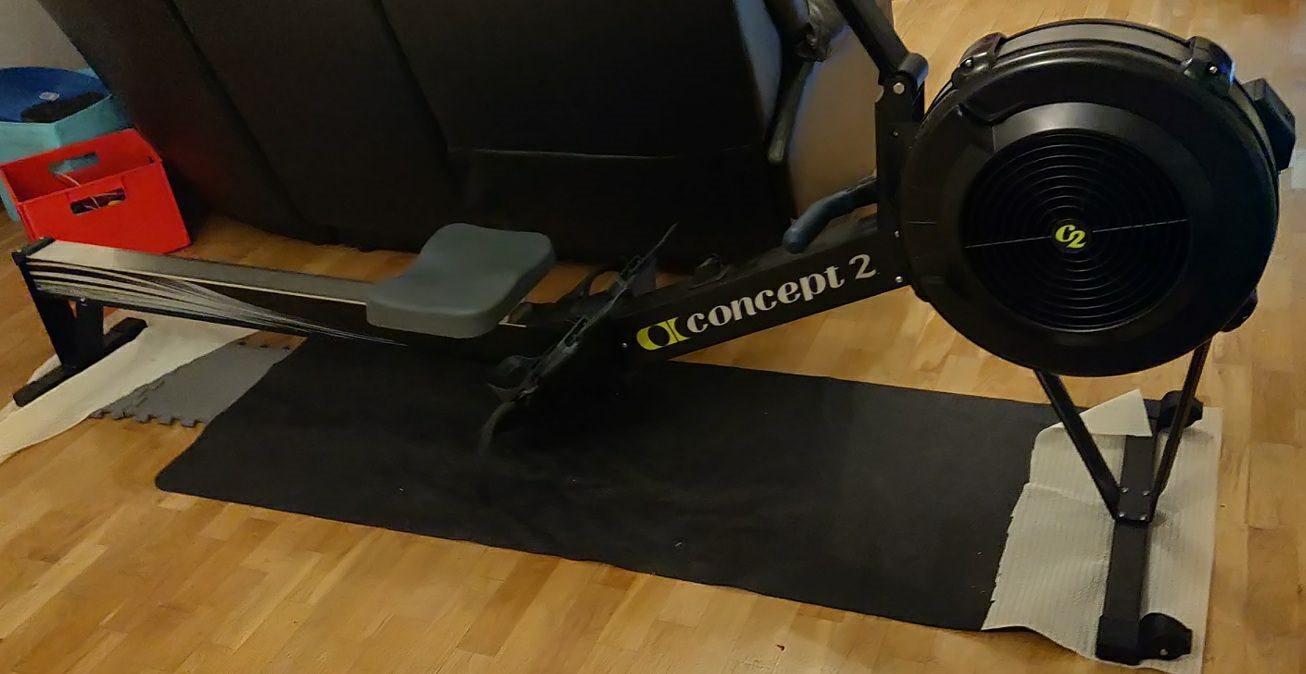roddmaskin concept 2 säljes