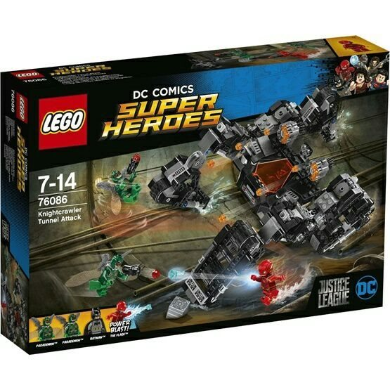 LEGO LEGO Super Heroes 76086, Knightcrawler Tunnel Attack