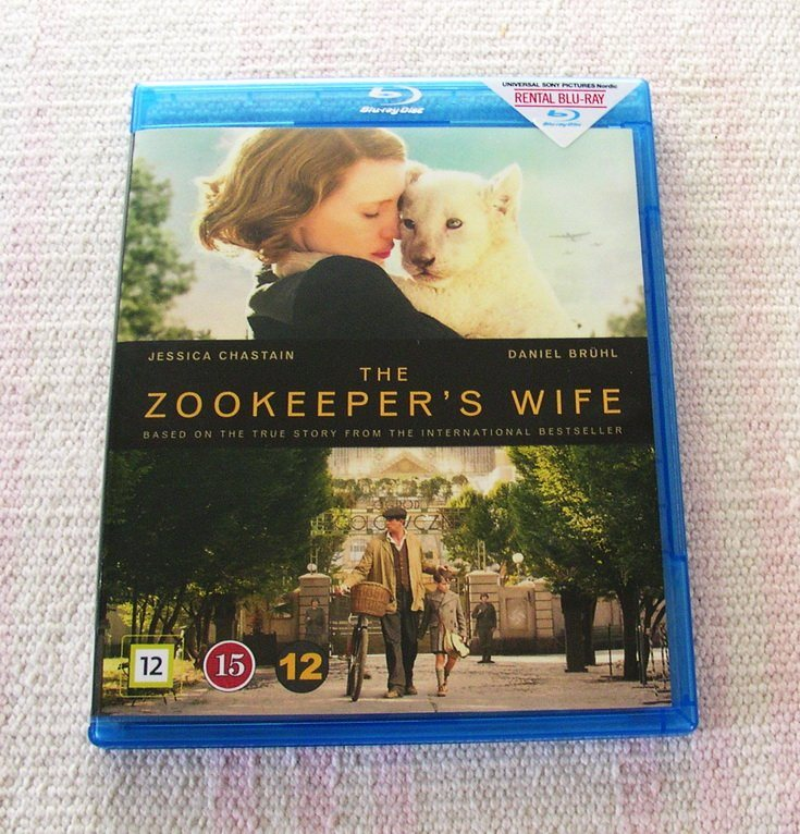 Blu-Ray / The Zookeeper's Wife