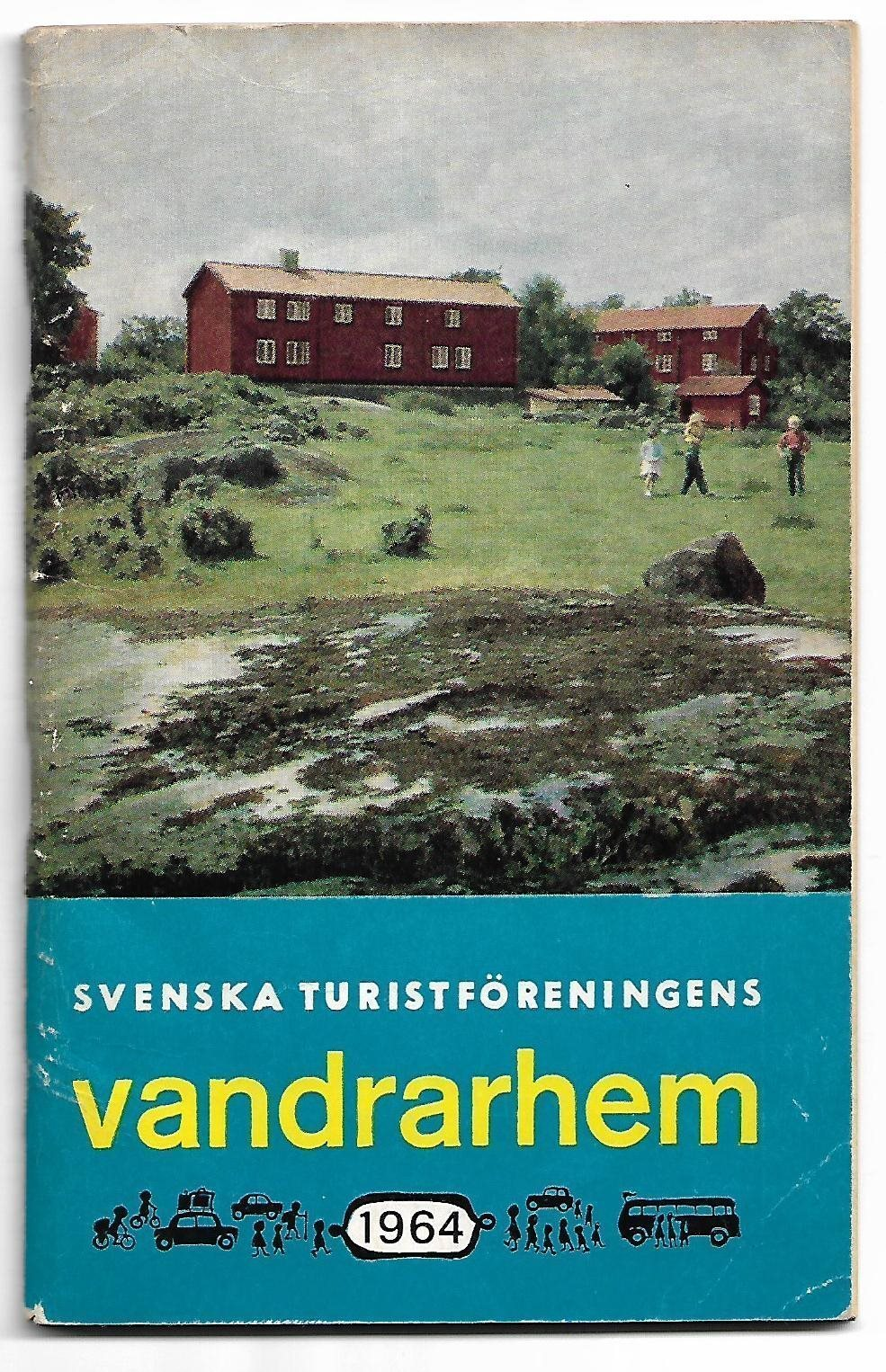 stf vandrarhem karta STF VANDRARHEM 1964. Häfte med karta. Bra skick. (313177630) ᐈ  stf vandrarhem karta