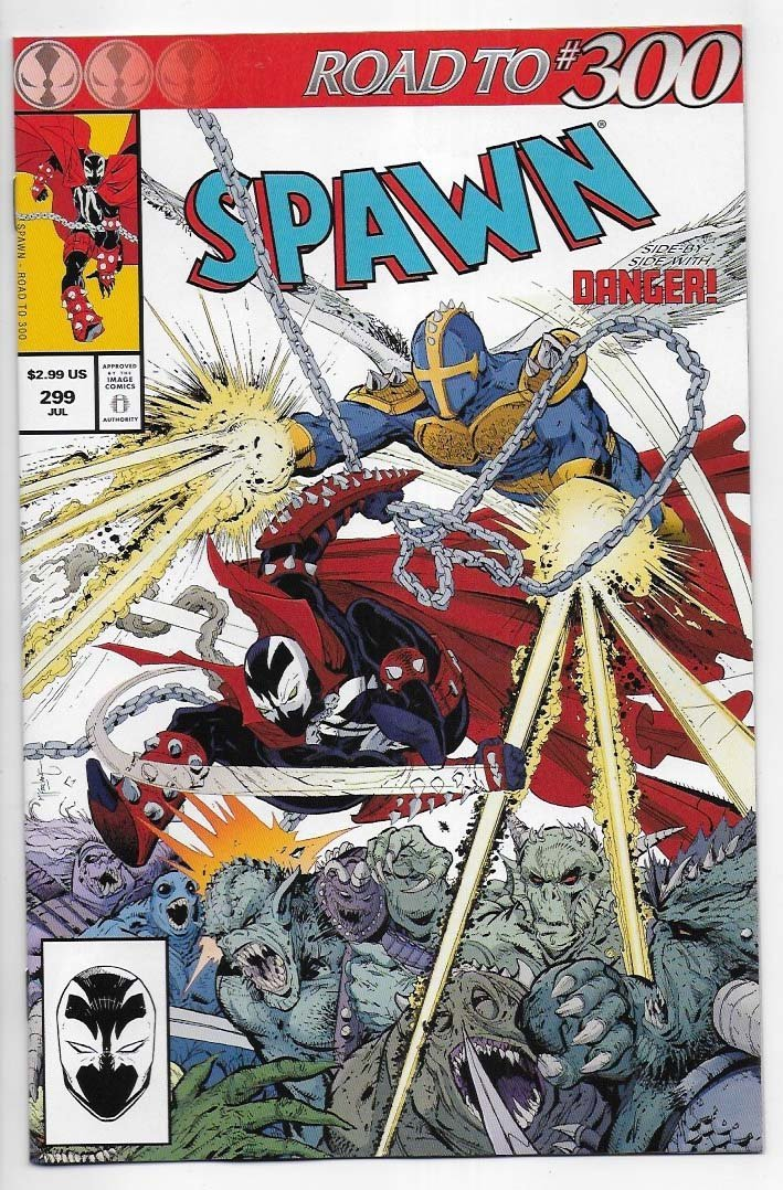 Spawn # 299 Cover A NM Ny Import