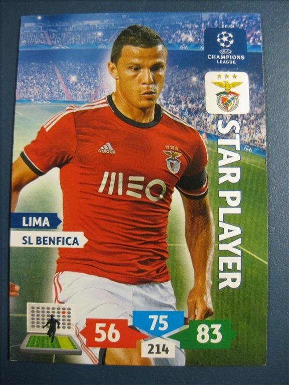 STAR PLAYER : LIMA -  BENFICA - CHAMPIONS LEAGUE 2013-2014