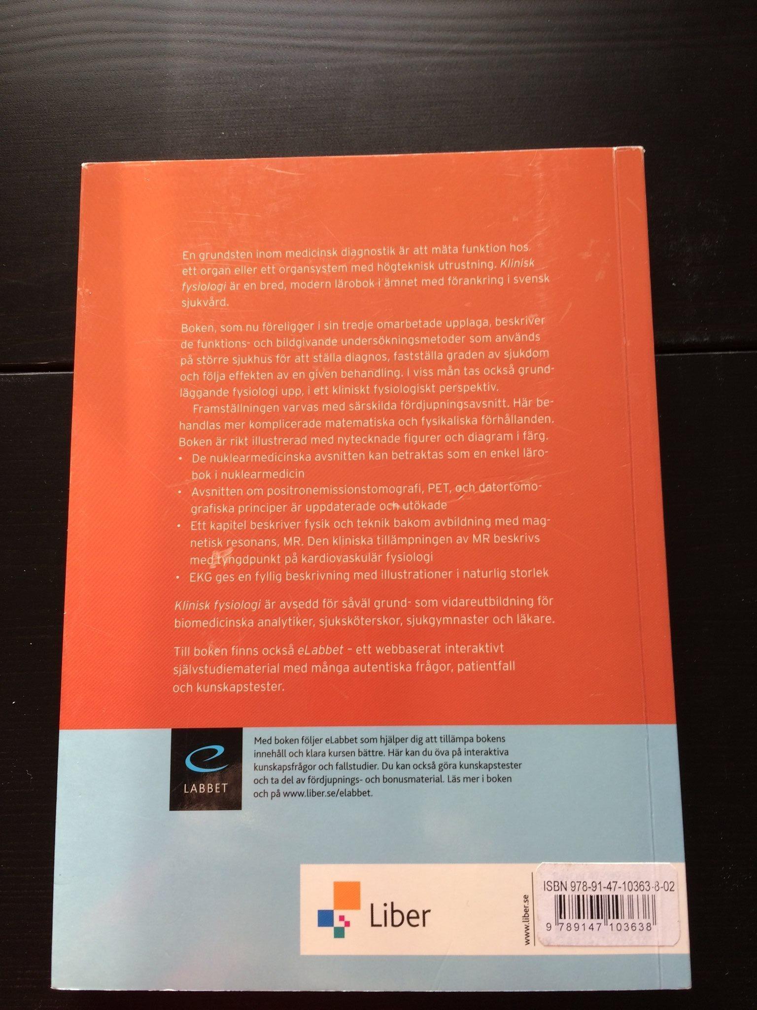 BMA utbildning kurslitteratur klinisk klinisk klinisk fysiologi 7d4b47