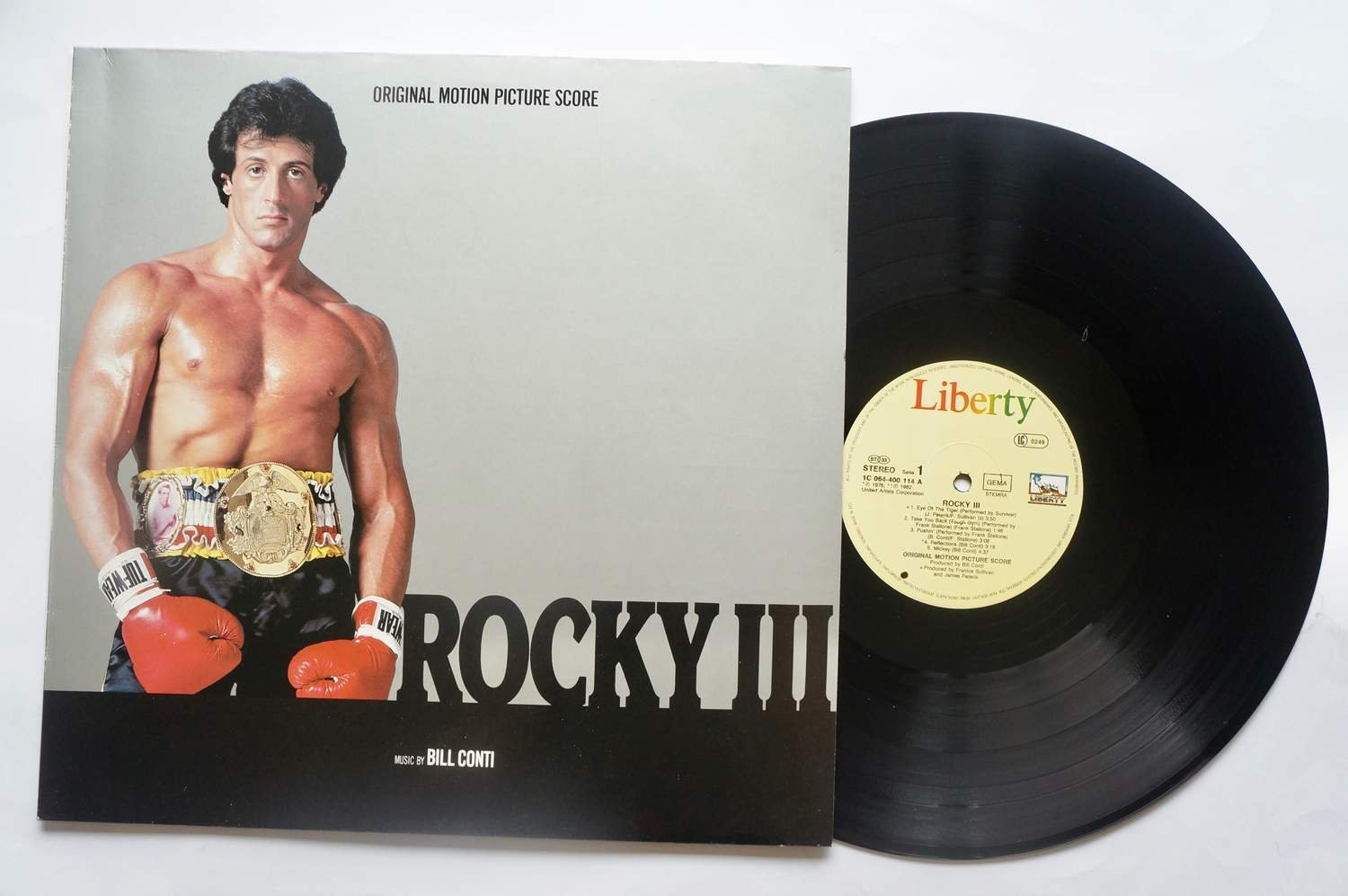 ** Bill Conti ?– Rocky III - Original Motion Picture Score **