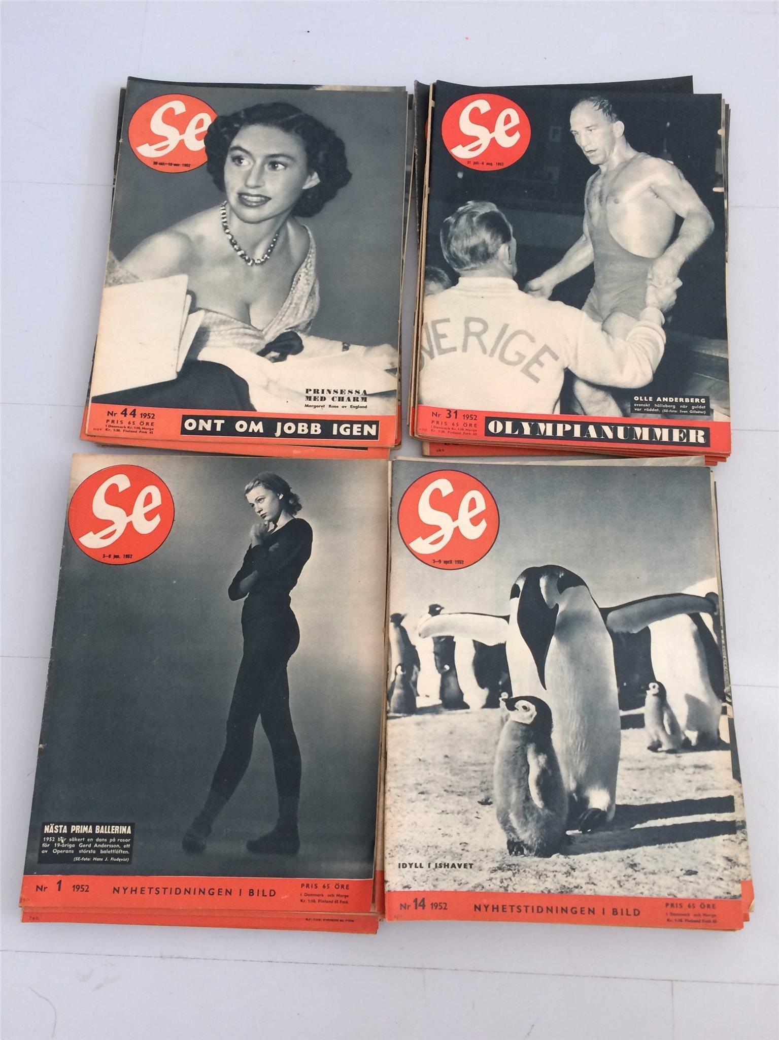 Tidnnngen SE årgång 1952