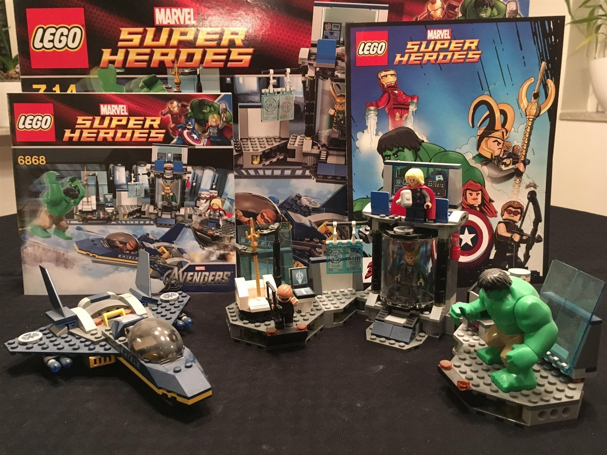 Lego Marvel Marvel Marvel Super Heroes