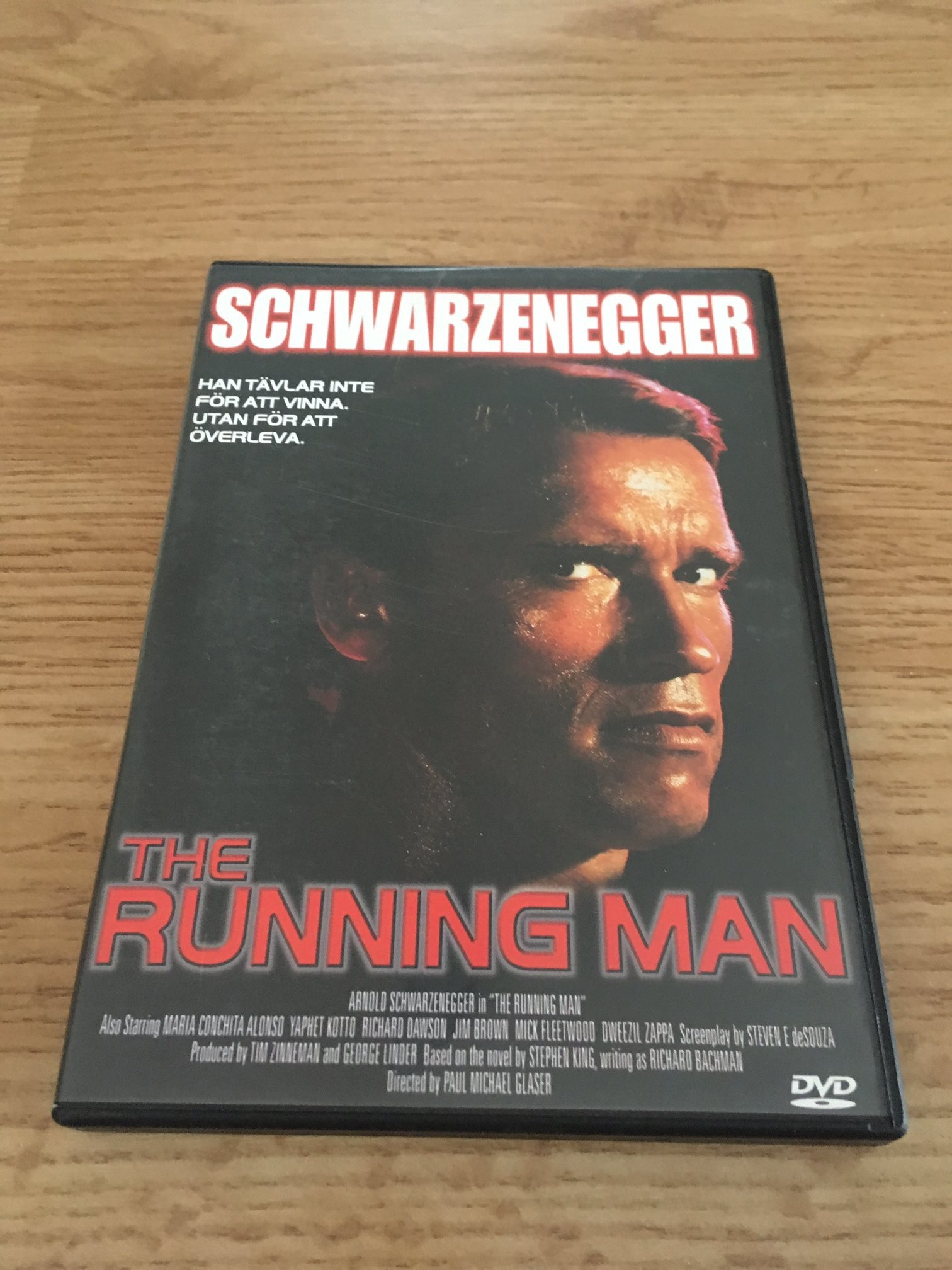 The Running man (337255021) ᐈ Köp på Tradera