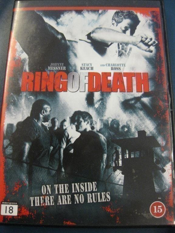 RING OF DEATH - JOHNNY MESSNER, STACY KEACH