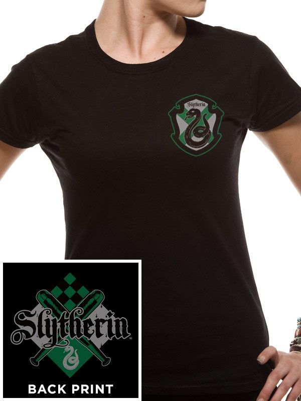 HARRY POTTER - HOUSE SLYTHERIN  (FITTED T-Shirt ) - Small
