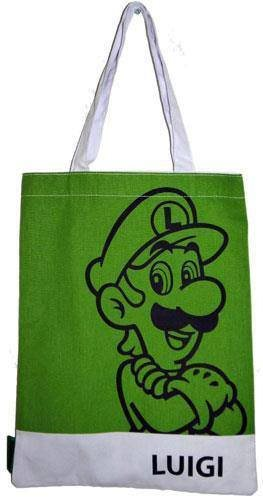 Super Mario Shopping Bag Luigi
