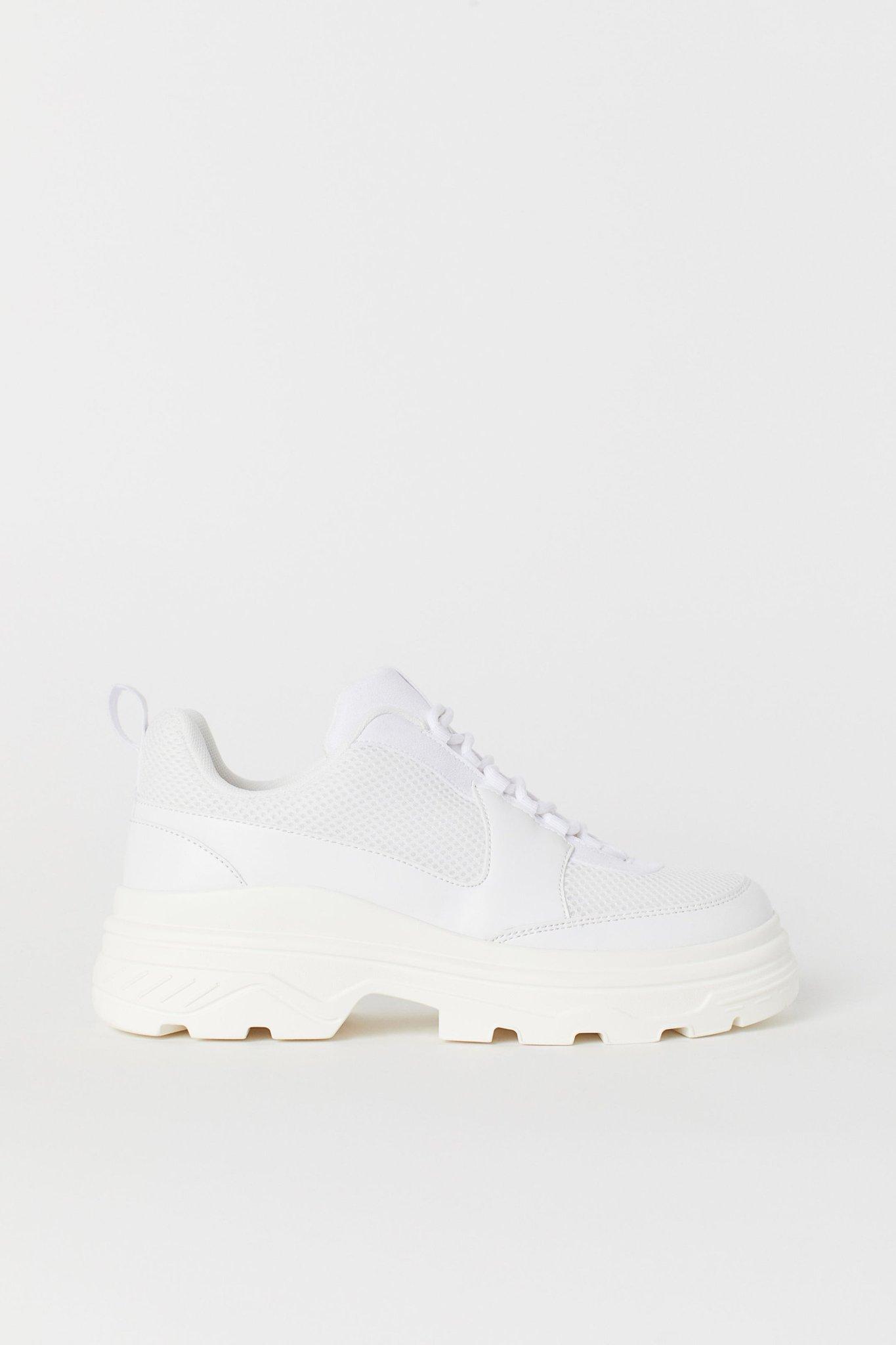 helt nya chunky sneakers h&m hm divided vita 38.. (360223766