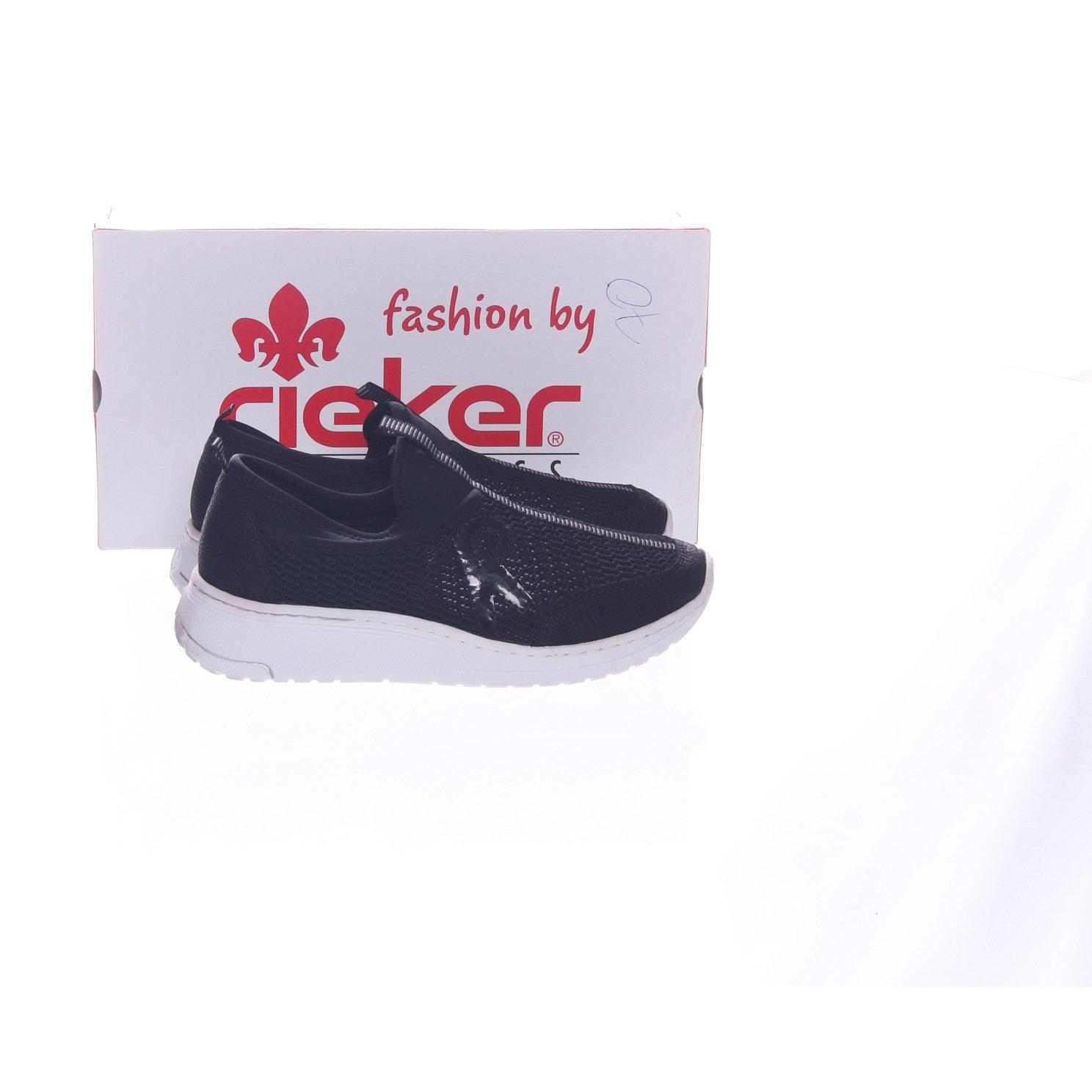 Rieker, Sneakers, Strl: 37, N5054 00, Svart