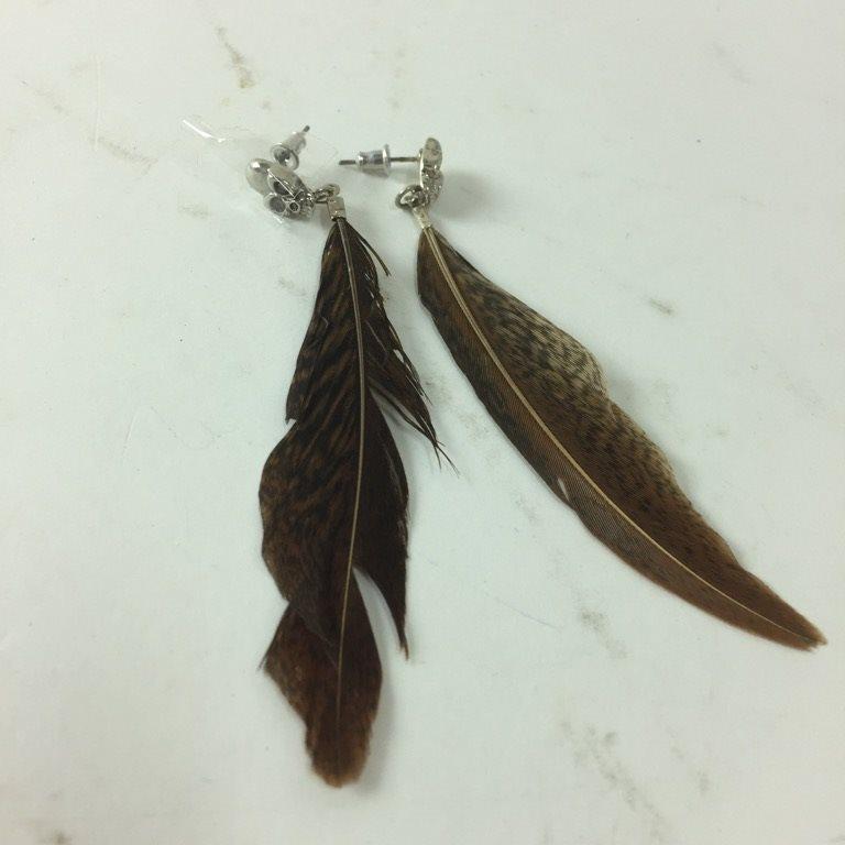 fjädrar till örhängen