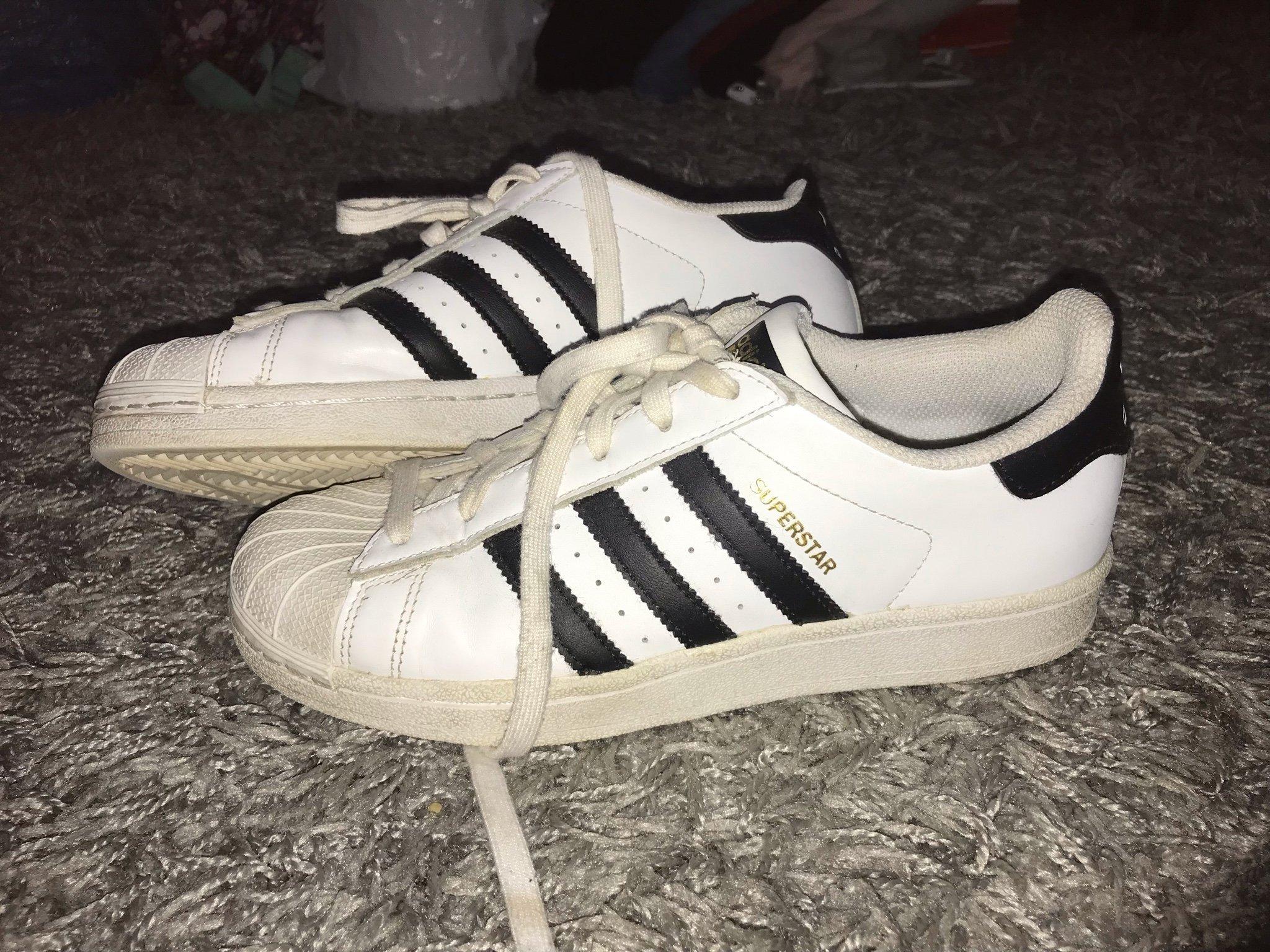Adidas superstar för dam. Svart. Stl.38 (349502311) ᐈ Köp