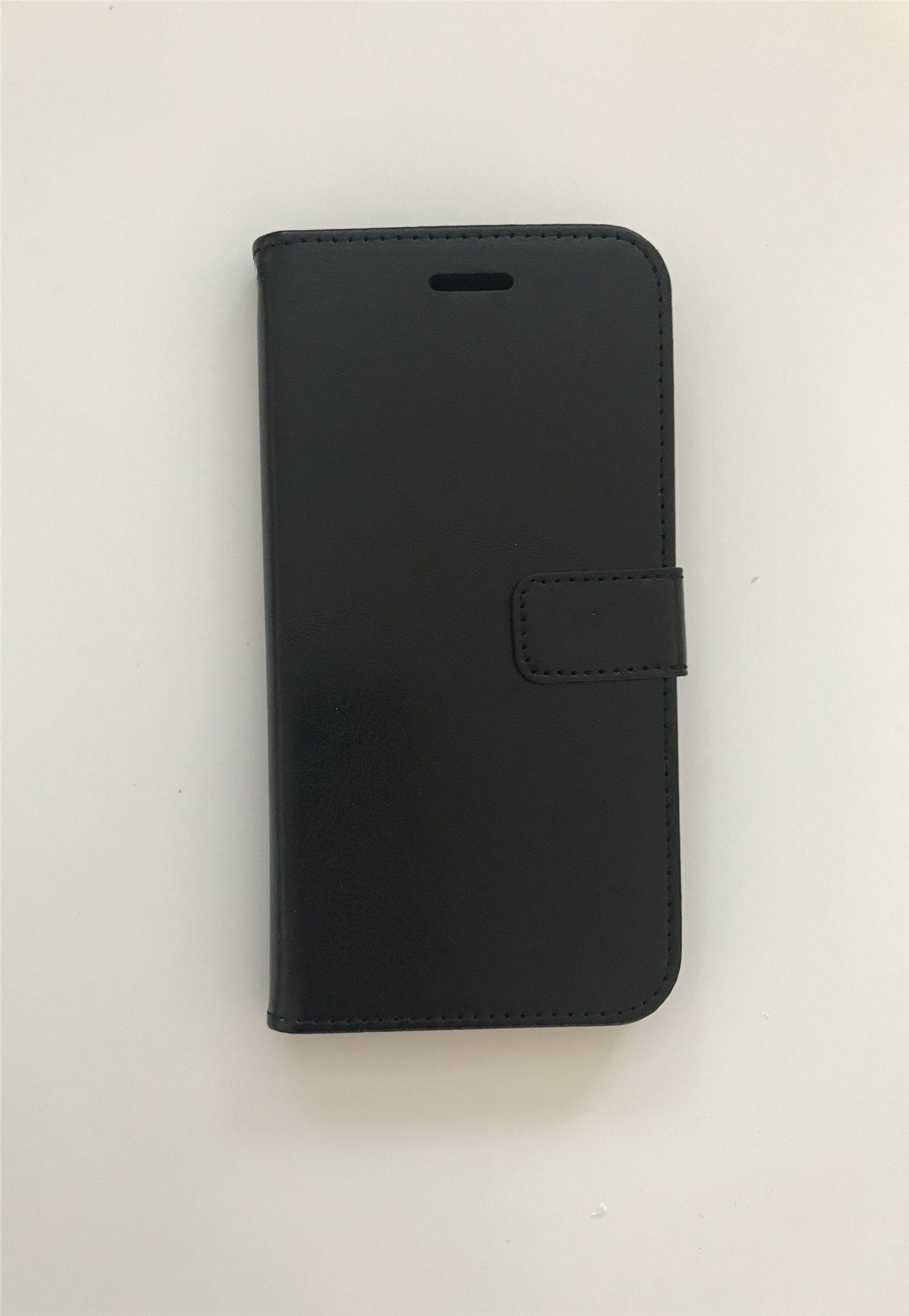 Läder Plånbok iPhone 8 Plus iPhone 7 Plus Svart (341660987) ᐈ Köp ... 8959322e77143