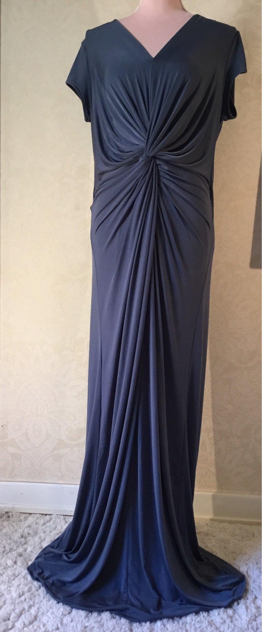 """c47f1ece759b NY ILSE JACOBSEN """"Emma ash-blue"""" maxi-dress stl.. (347277142) ᐈ Köp ..."""