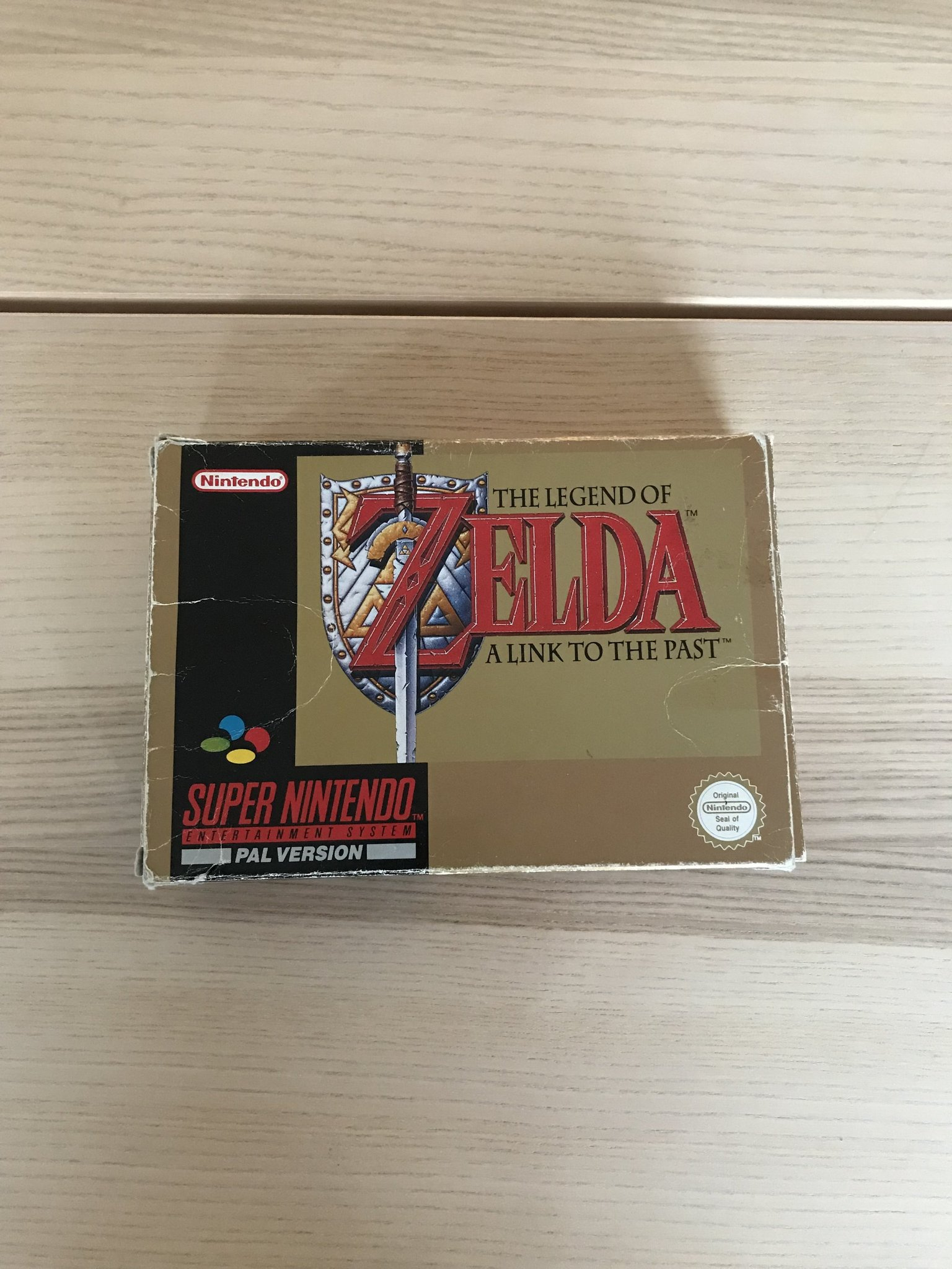 The Legend of Zelda - SNES - SCN - Svensksålt -   (349117955