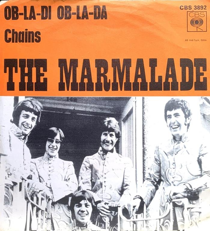 Bildresultat för ob la di ob la da with the marmalades
