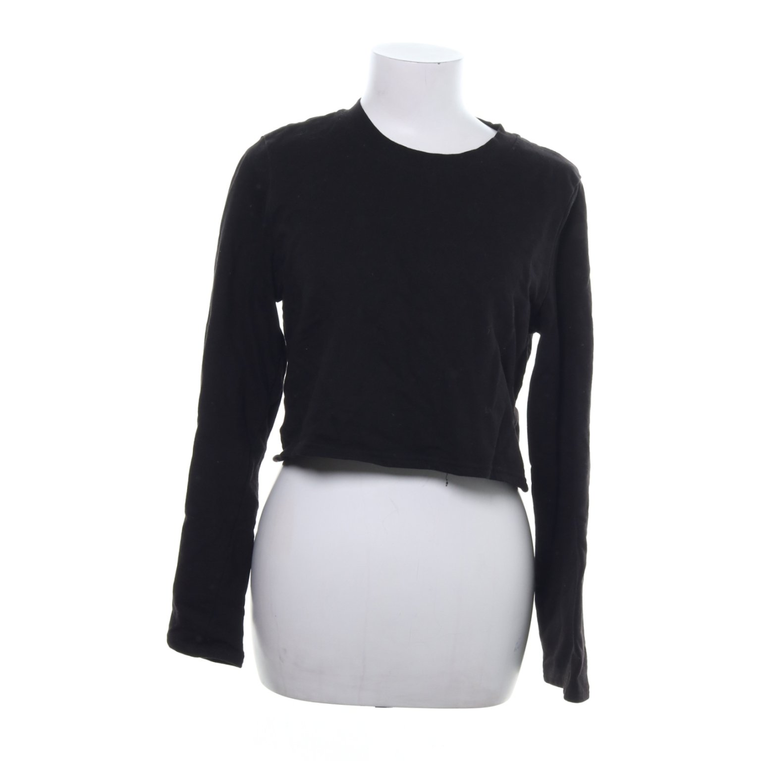 Monki, Crop top, Strl: S, Svart