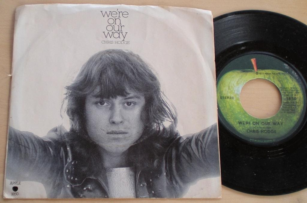 Chris Hodge 45/PS We´re on our way US 1972 VG++